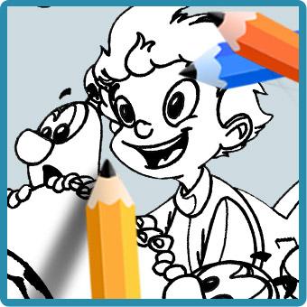 colorear dibujos pintar lmns