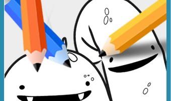 Dibujos de los Glumpers para colorear
