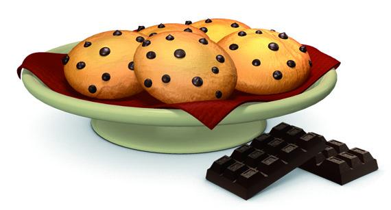 receta de galletas con chocolate para cocinar con ninos