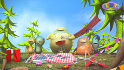 Download Glumpers wallpaper, wallpaper barbecue birthday party
