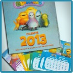 Calendario 2013 de los Glumpers