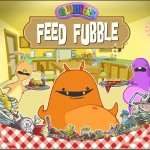 Captura del juego apra moviles, app for kids, feed fubble