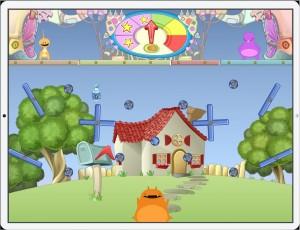 Feed Fubble game screenshot, juegos para niños,app movil
