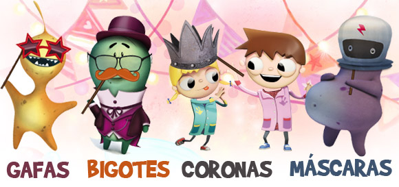 complementos-disfraces-gafas-coronas-mascaras-bigotes