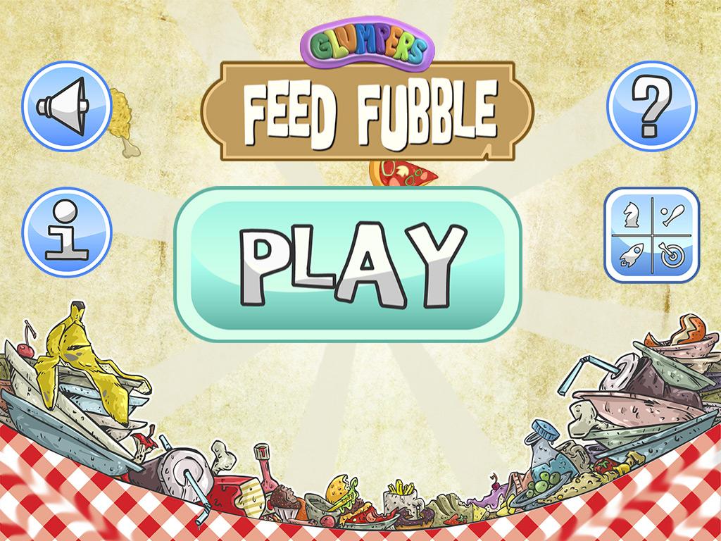Pantalla de inicio del juego de niños para movil y tablet iphone android ipad