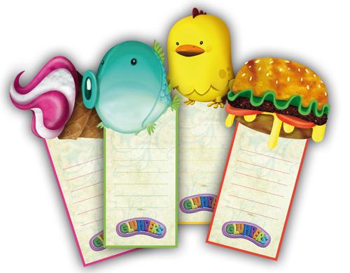 Original And Beautiful Bookmarks With Glumpers Cartoons