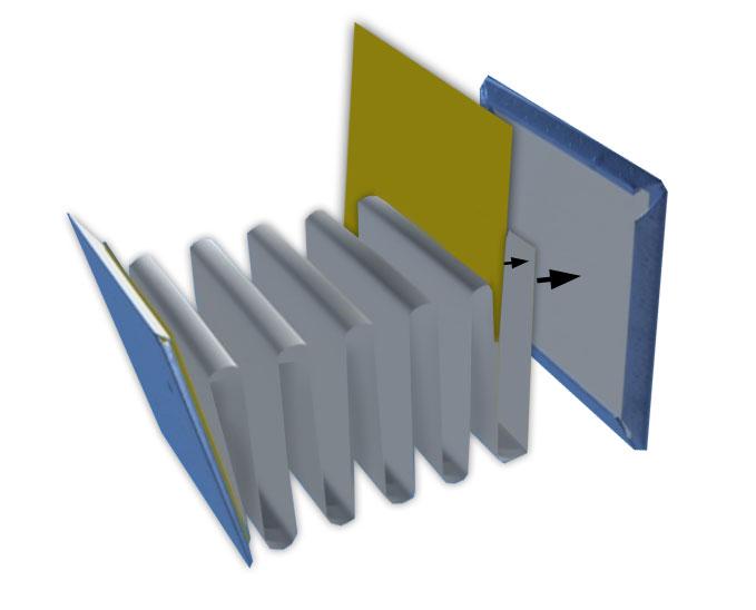 manualidades faciles para regalar, una libreta, pegar, las tapas a las hojas