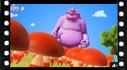 Captura de pantalla del video de dibujos de Boom reds casa