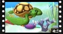Educational cartoon videos to learn sea animals: Sea turtle
