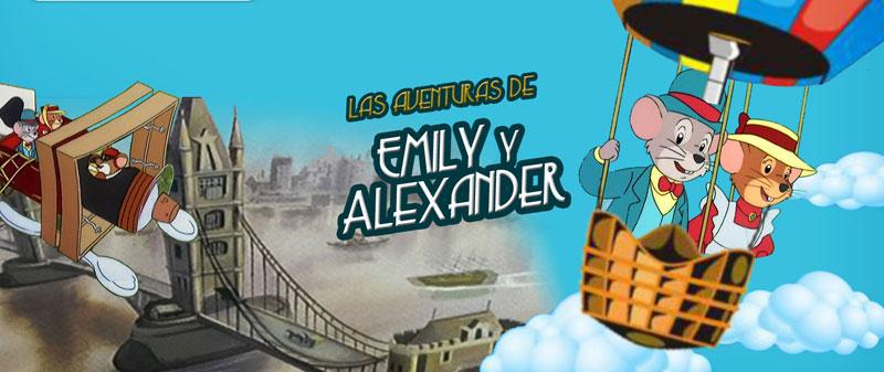 Caricaturas animadas Emily y alexander, aventuras de ratones