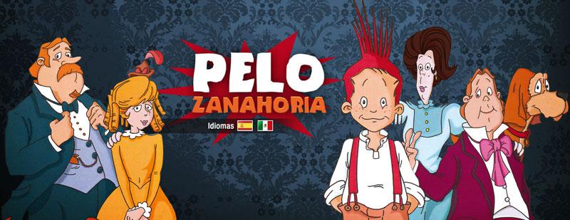 Serie de animación pelo zanahoria, divertidas aventuras de un niño