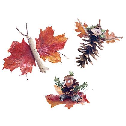 animalitos-hojas-pinas-artesanias-ninos-otono