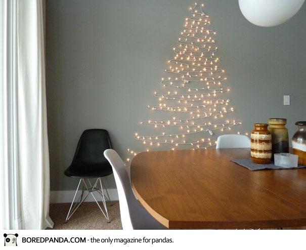 Arbol de navidad con luces, decoración niños navidad