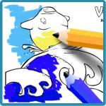 Dibujos para colorear del verano