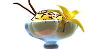 Receta de helado de vainilla para hacer con niños