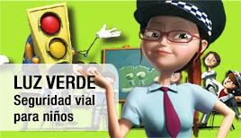 Dibujos de seguridad vial para niños, aprender en verano
