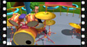 Educational cartoon videos to musical instruments: Drum kit