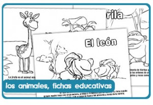 Fichas educativas sobre animales