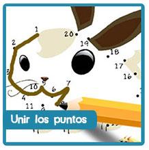 Unir los puntos, aprender numeros, fichas educativas