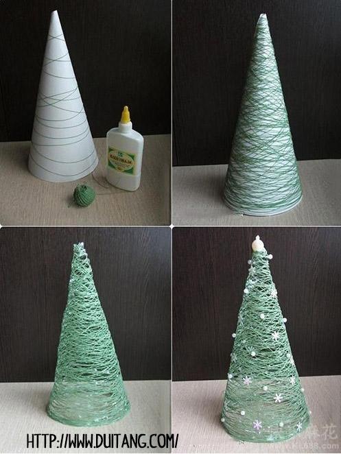 arbol-navidad-cuerda-facil-manualidad