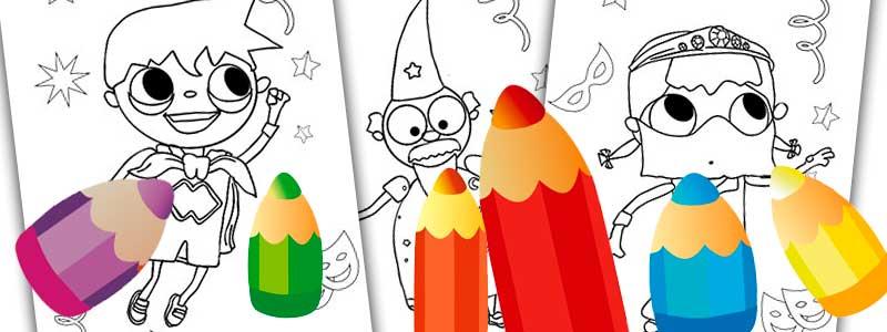colorear-dibujos-telmo-tula-carnaval