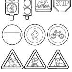 senal-paso-peatones-colorear
