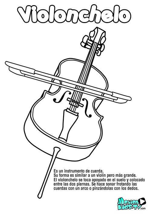 Recursos educativos música, instrumentos de cuerda | MotionKIDS-tv ...