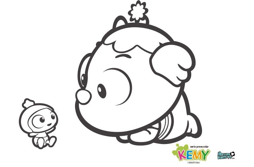 Pintas descargar kemy serie dibujos animados niños