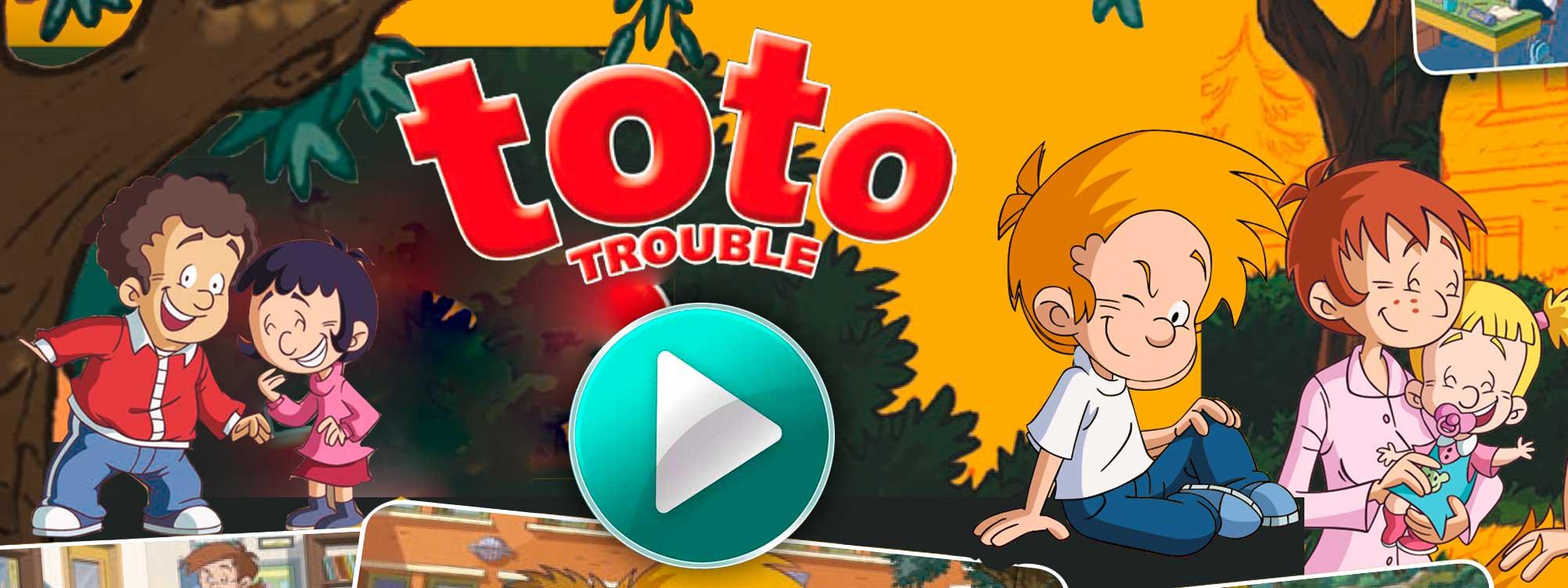 Videos de la serie de dibujos animados toto trouble
