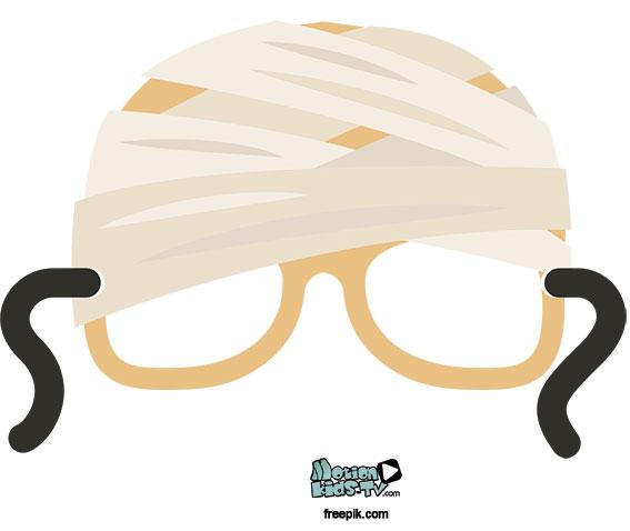 descargar-gafas-halloween-momia