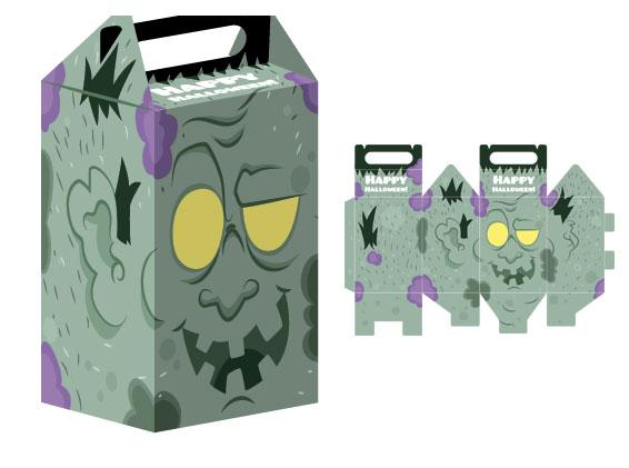 halloween-caja-descargar-recortable-frankestein