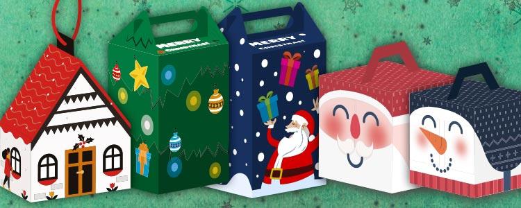 Descargables cajas navide as manualidades navidad con ni os - Manualidades faciles de navidad para ninos ...