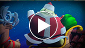 Video divertido Navidad, Glumpers, papa noel