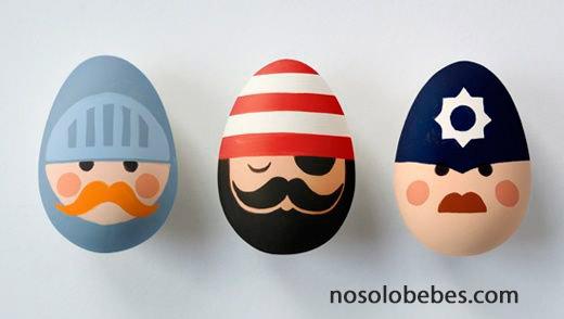 huevos-pascua-pintados-bonitos-actividades-ninos