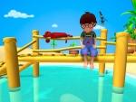 Alex on the sea shore