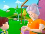 Alex and grandmummy