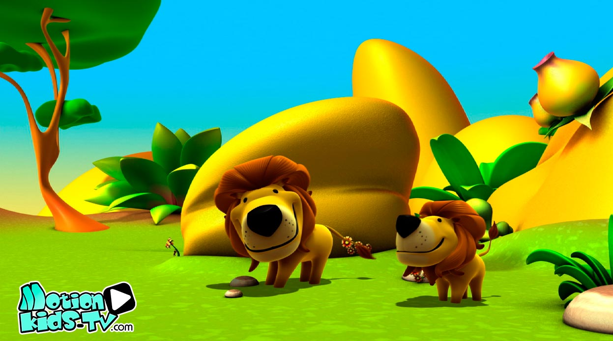 Animated Animals with Kids TV Show