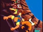 Escalando el acantilado