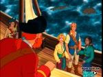 En el barco del pirata Barba Roja