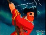 Barba Roja en la tormenta