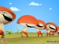 Funny Reds mushrooms