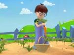 Zanahoria - Dibujos de frutas y verduras