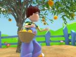 Melocotón - Dibujos de frutas y verduras