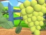 Uva - Dibujos de frutas y verduras