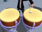 Timbales y platillos - instrumentos de música